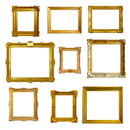 gold picture  frames 944148776