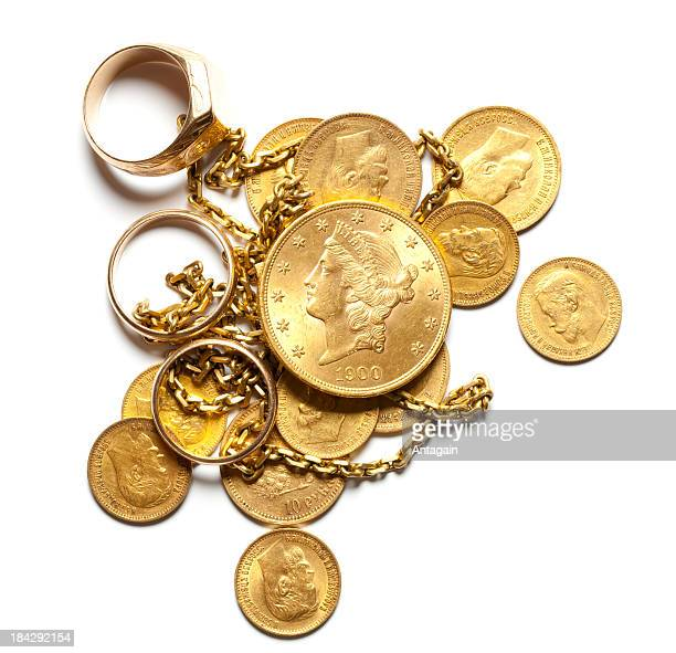 gold - gold chain necklace stock pictures, royalty-free photos & images