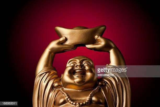 Gold Prosperity Buddha Maitreya