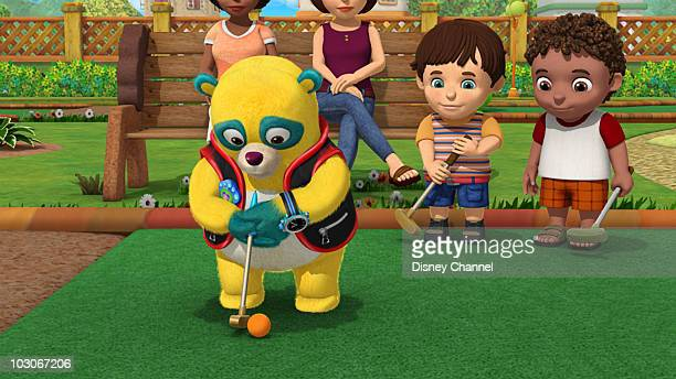 OSO Gold Putter Special Agent Oso helps Jayden and Ryan learn how to play miniature golf This episode of Playhouse Disney's Special Agent Oso airs...