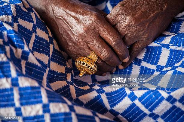gold ring at the akwasidae the great celebration - gold coast stock pictures, royalty-free photos & images