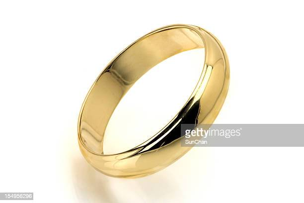 gold ring - wedding ring stock pictures, royalty-free photos & images