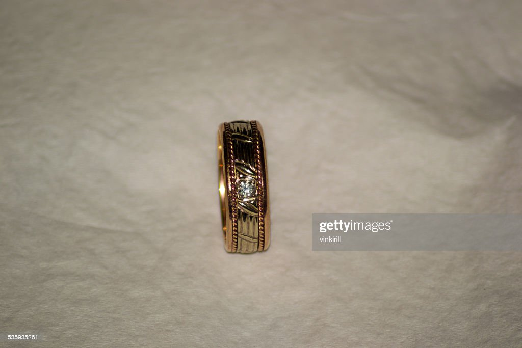 gold ring : Stock Photo