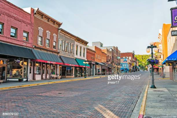 Gold Rush Architectural Structures Deadwood South Dakota