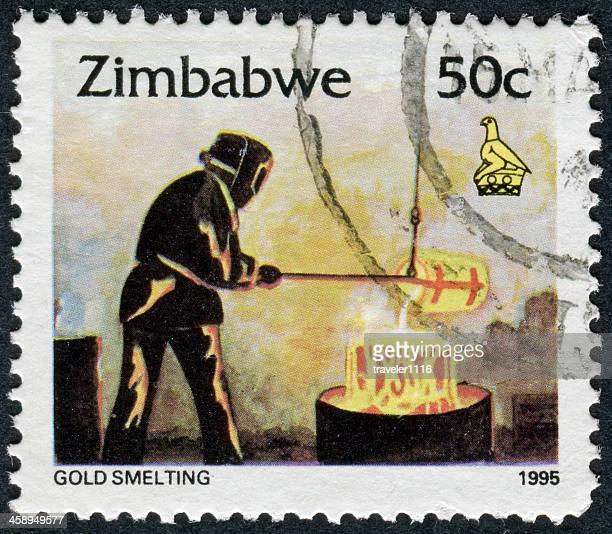 Gold Smelting Stamp