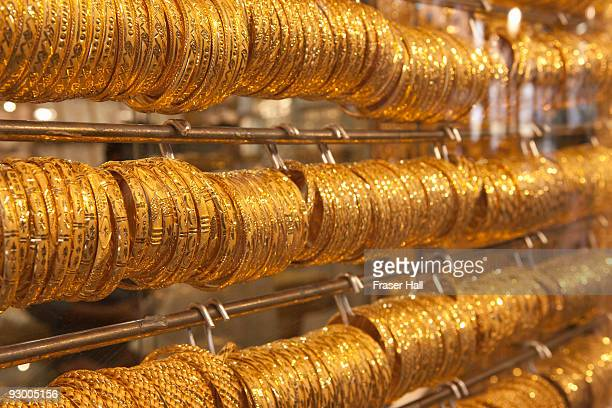 gold souk, deira, dubai - bangle stock pictures, royalty-free photos & images