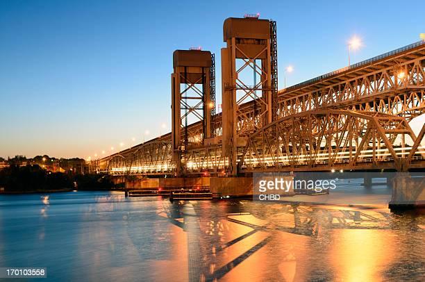 gold star memorial bridge - connecticut - fotografias e filmes do acervo