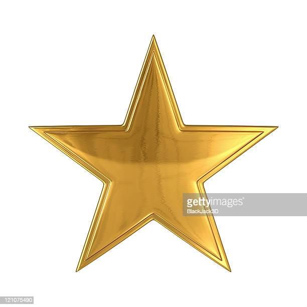 ゴールドの星