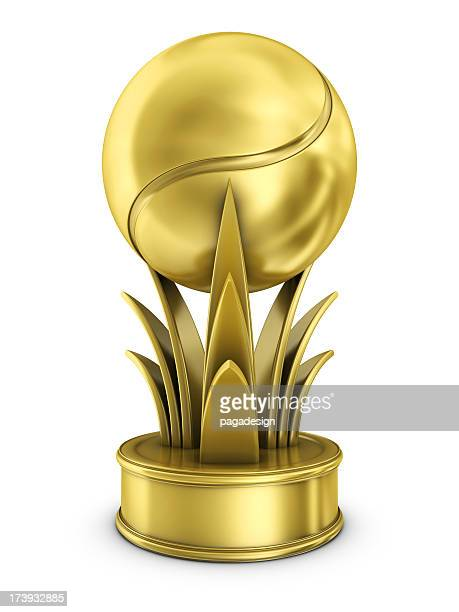 gold tennis award
