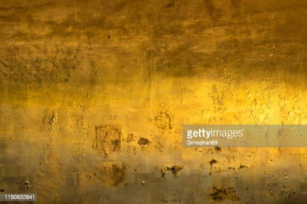 gold texture glitter background. light realistic, shiny, metallic empty golden gradient template. abstract metal decoration. - bronze medal stock pictures, royalty-free photos & images