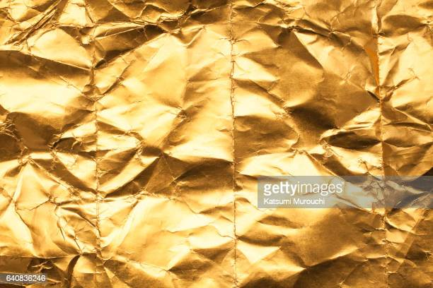 gold texture - gold foil stock photos and pictures