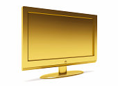 3D Gold TfT LCD flat screen monitor