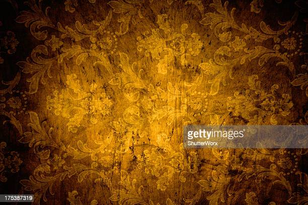 Gold Victorian Background
