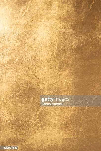 gold wall texture background - gold stock pictures, royalty-free photos & images