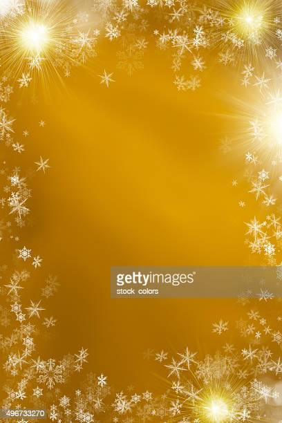 gold winter background