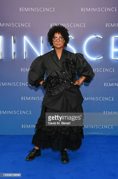 """Golda Rosheuvel attends the UK premiere of """"Reminiscence"""" at BFI IMAX on August 11, 2021 in London, England."""