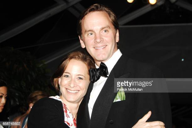 Goldberg and Jeffrey Bilhuber attend the Wildlife Conservation Society's Central Park Zoo '09 Gala at the Central Park Zoo on June 10 2009 in New...