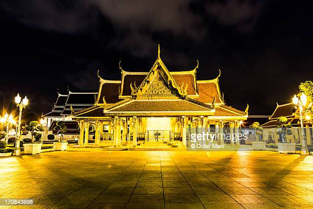 golden bangkok - didier marti stock photos and pictures
