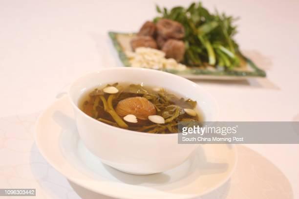 Golden Bauhinia Cantonese Restaurant's Watercress soup at HKCEC in Wan Chai 26AUG16 SCMP / Edward Wong
