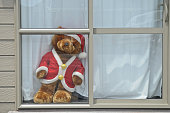 http://www.istockphoto.com/photo/golden-bear-in-santa-claus-dress-standing-on-white-wooden-window-gm877043434-244764008