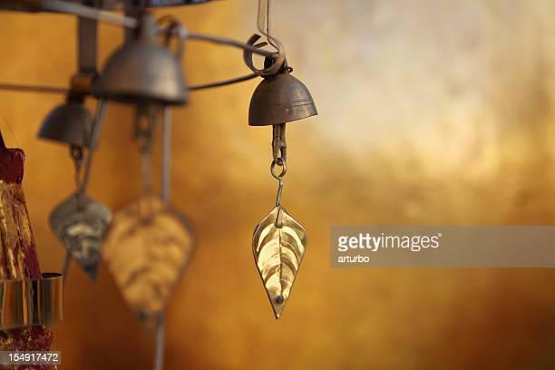 golden bell at a buddhist monastery