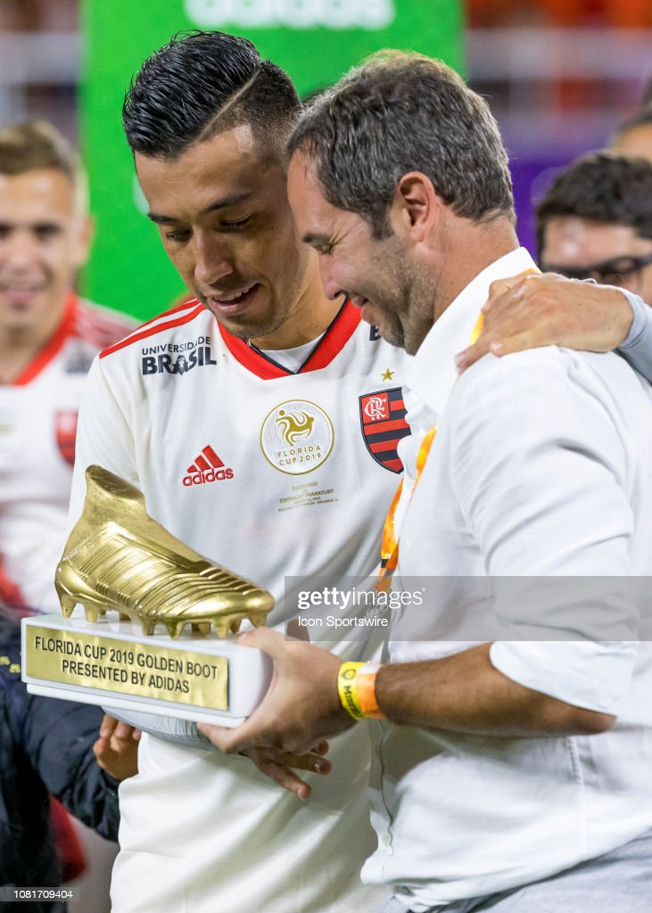 golden boot was awarded to during the Florida Cup soccer match