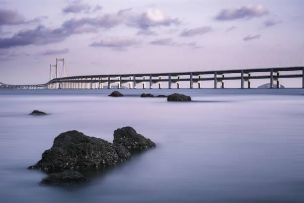 A Golden Bridge Over The Sea, Dalian, China
