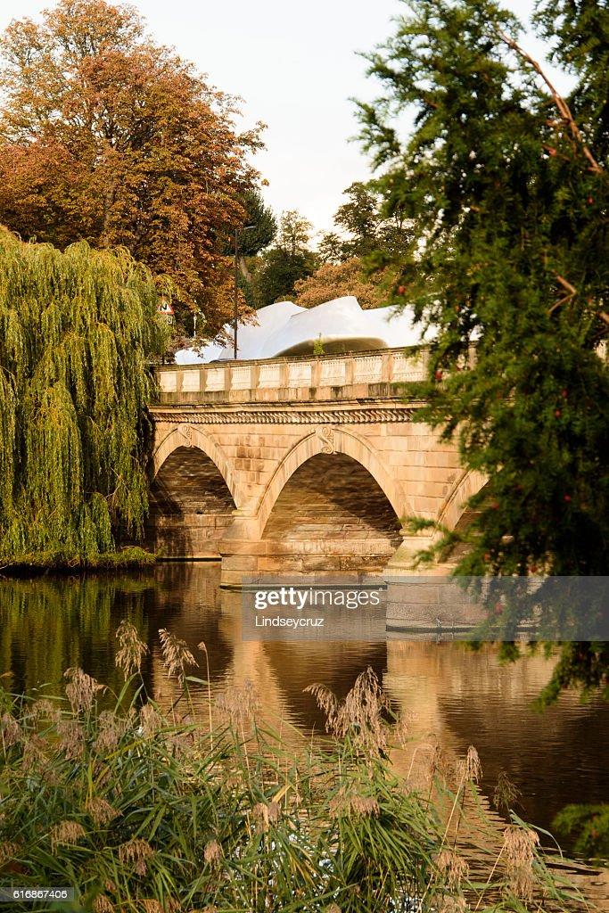 golden bridge : Stock Photo