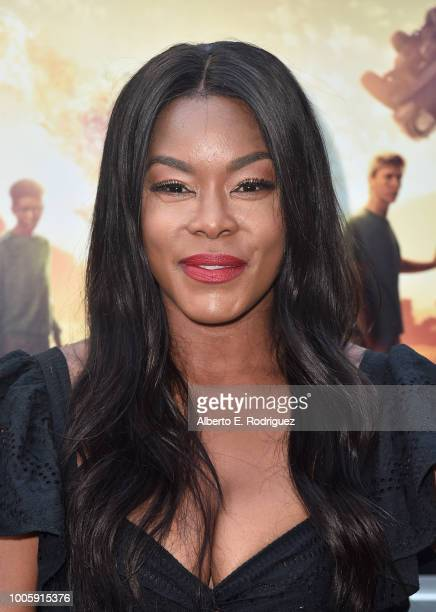 Golden Brooks attends a screening of 20th Century Fox's Darkest Minds at ArcLight Hollywood on July 26 2018 in Hollywood California