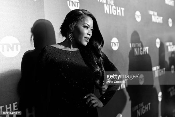 Golden Brooks attends the 'I Am the Night' Premiere at Metrograph on January 22 2019 in New York City 484171