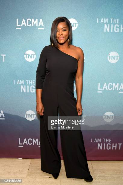 Golden Brooks attends the 'I Am the Night' screening at LACMA on January 17 2019 in Los Angeles California 484150