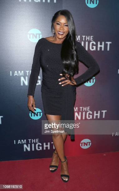 Golden Brooks attends the New York premiere Of TNT's I Am The Night at Metrograph on January 22 2019 in New York City