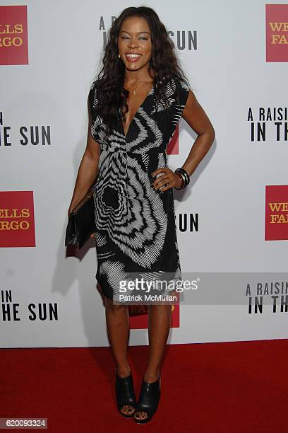 Golden Brooks attends West Coast Screening of 'A Raisin in the Sun' at AMC Magic Johnson on February 11 2008 in Los Angeles CA