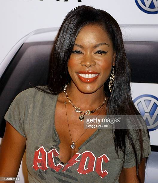 Golden Brooks during 2005 Volkswagen Jetta Premiere Party Arrivals at The Lot in West Hollywood California United States