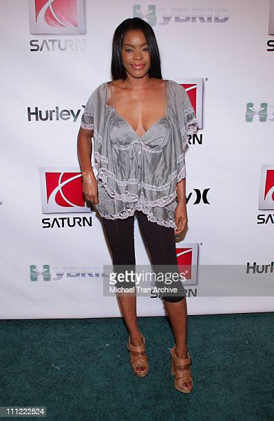 Golden Brooks during 2006 XGames Saturn Party and Fashion Show at 6820 Hollywood Blvd in Hollywood California United States