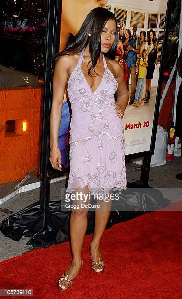 Golden Brooks during Beauty Shop World Premiere Arrivals at Mann National Premiere in Westwood California United States