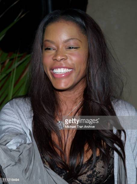 Golden Brooks during Charlotte Ronson's 2006 Fall/Winter Fashion Show and After Party at Roosevelt Hotel in Hollywood California United States