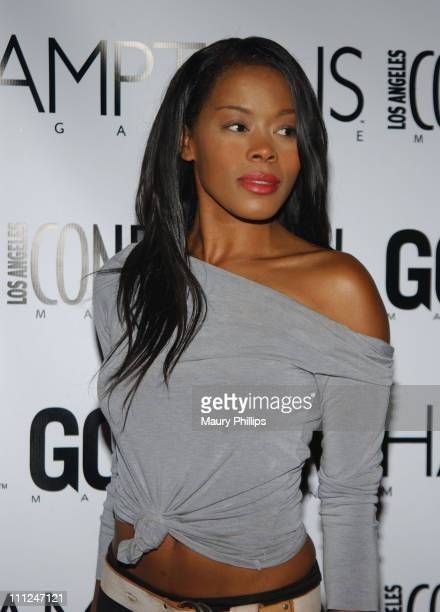 Golden Brooks during LA Confidential Emmy / Fall Fashion Cover Party at Shelter Supper Club in West Hollywood California United States