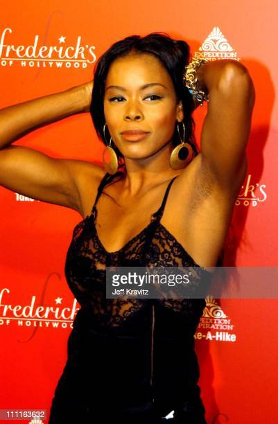 Golden Brooks during Frederick's of Hollywood Debuts Fall 2003 Collection at Smashbox Studios in Culver City CA United States