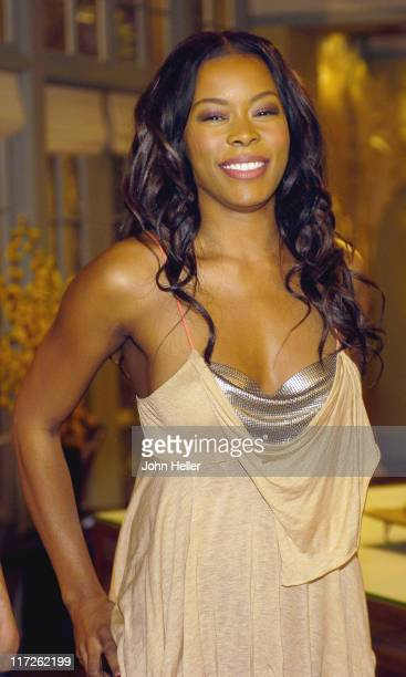 Golden Brooks during Girlfriends Celebrates Its 100th Episode at Paramount Studios in Hollywood California United States