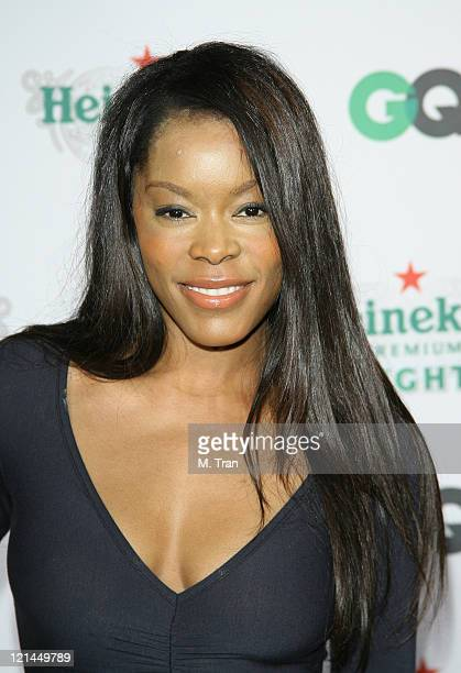 Golden Brooks during GQ Magazine Celebrates Heineken Premium Light at Les Deux in Hollywood California United States