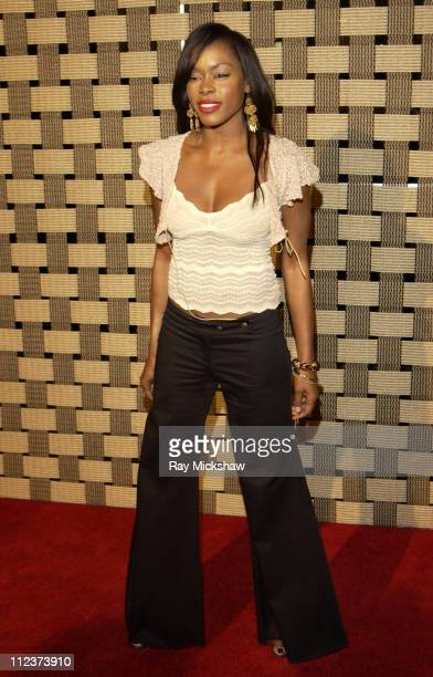 Golden Brooks during 'Hotel Rwanda' Los Angeles Premiere Red Carpet at Academy Theater in Los Angeles California United States