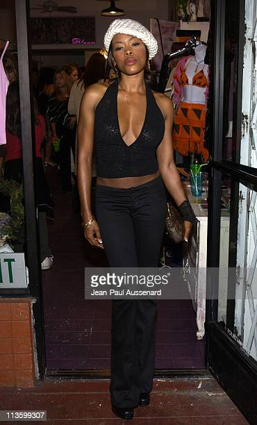 Golden Brooks during Jennifer Blanc Opens Blancs Clothing Store at Blancs in Los Feliz California United States