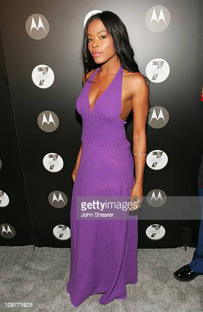 Golden Brooks during Motorola's Seventh Anniversary Party to Benefit Toys for Tots Red Carpet at American Legion in Los Angeles California United...
