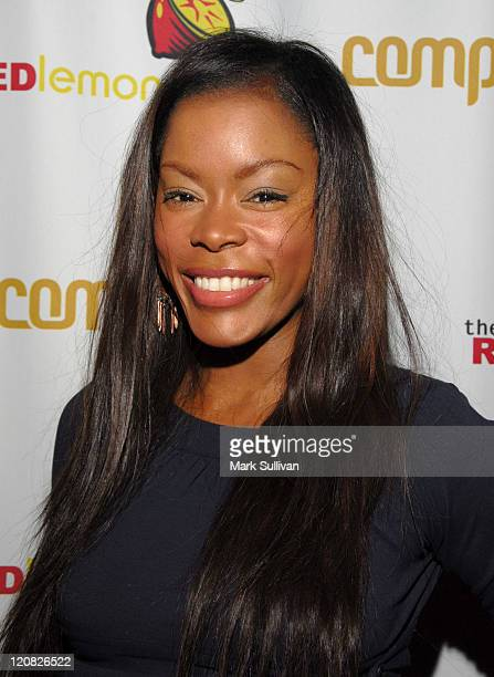 Golden Brooks during Red Lemon Store Opening at The Red Lemon Store in West Hollywood California United States