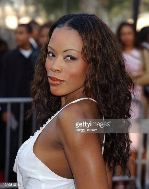 Golden Brooks during The 16th Annual Soul Train Music Awards Arrivals at LA Sports Arena in Los Angeles California United States