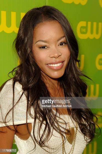 Golden Brooks during The CW Launch Party Green Carpet at WB Main Lot in Burbank California United States