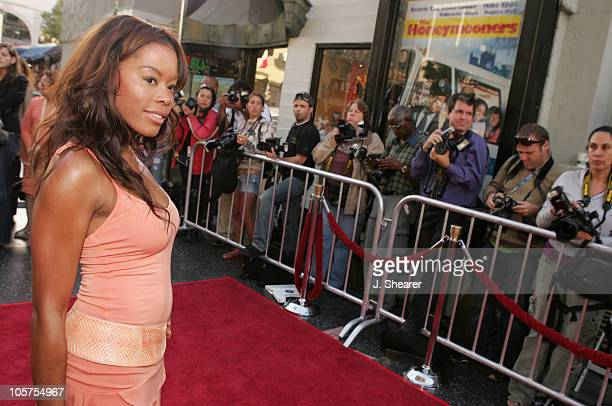 Golden Brooks during The Honeymooners Los Angeles Premiere Red Carpet at Grauman's Chinese Theater in Hollywood California United States