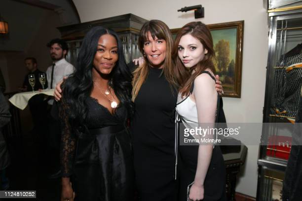 Golden Brooks Patty Jenkins and India Eisley attends the I Am The Night Los Angeles Premiere on January 24 2019 in Los Angeles California 484213