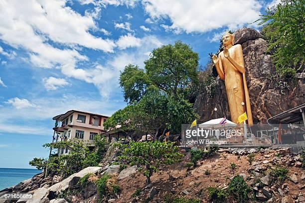 Golden Buddha, Hua Hin, Thailand.